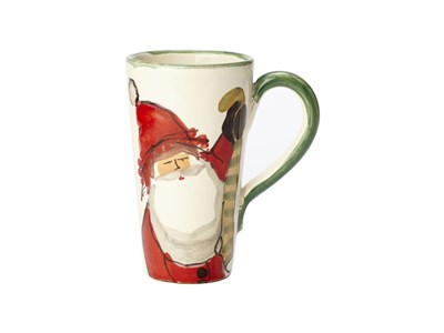 Old St. Nick Latte Mug