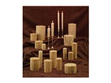 Ivory Solid European Drip Pillar (Pegged) / Ivory Solid European Drip Pillar (Pegged)